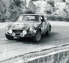 Fiat 124 Abarth Rally group 4 (1973) - Racing Cars