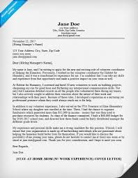 Cover Letter Sample Returning Previous Employer Adriangatton Com