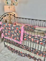 fl stripe baby bedding