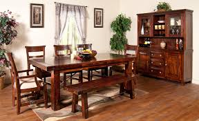 black dining room set with bench. 7-Piece Extension Table Set Black Dining Room With Bench