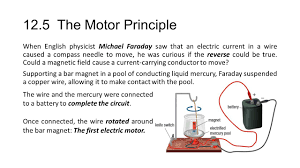 first electric motor invented by michael faraday. 12 5 The Motor Principle When English Physicist Michael Faraday First Electric Invented By