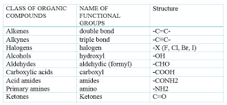Organic Chemistry Functional Groups Chart Pdf Classification Of Organic Compounds Cyclic And Acyclic