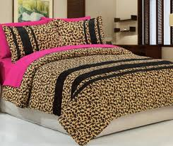 exciting leopard print bedding sets your house concept