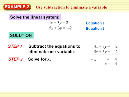 6 use subtraction