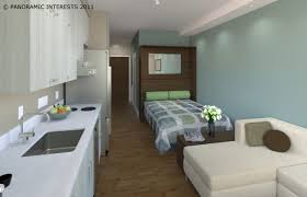 San Francisco Micro Apartment Unit With Kitchen Bedroom And pertaining to One  Room Living The Studio