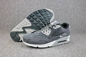 nike air max 90 ltr leather anthracite black wolf grey white 652980 012 men s running shoes jogging shoes 652980 012a