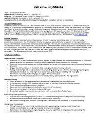 Sample Resume Of A Non Profit Executive Director Fresh Pleasing Non
