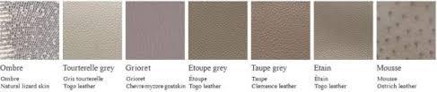 Hermes Brown Color Chart