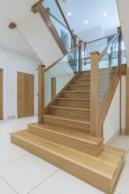 How To Hardwood Stairs Best 25 Oak Stairs Ideas Only On Pinterest Stairs Glass Stair