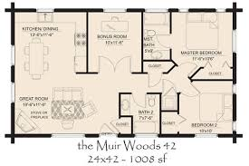 First Floor Plan Of Laurens II Log Home THIS IS IT  For The Open Log Home Floor Plans