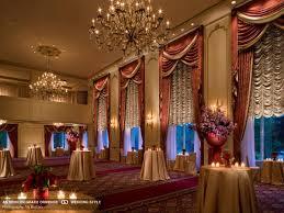 luxurious ball room at the taj boston hotel
