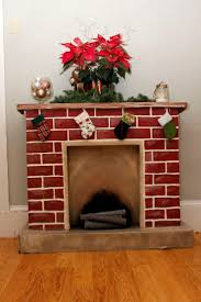 Build A Fake Fireplace Best 25 Cardboard Fireplace Ideas Only On Pinterest Decorate