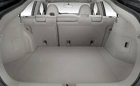honda insight cargo space auto blog honda insight trunk space