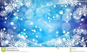 Christmas Snowflakes Pictures Christmas Snowflakes Blue Background Stock Illustration