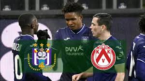 Anderlecht vs Kortrijk #Anderlecht #Kortrijk Match Highlights - YouTube