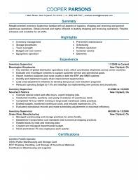 Resume Samples For Warehouse Jobs Delighted Good Warehouse Resume Examples Photos Entry Level Resume 57