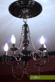 when all was said and done i spent less than 100 to make this chandelier what do you