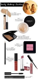 daily makeup routine s mugeek vidalondon