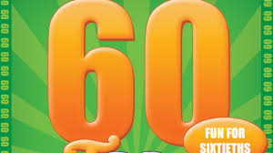 the 60th birthday game unusual novelty 60th birthday gift idea