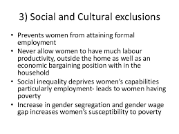 feminisation of poverty susceptibility to poverty 12