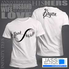 Couple Shirt Design Infinity Shirts For Couples Infinity Shirts For Him Her