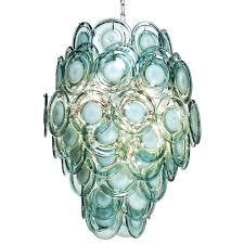 sea glass chandelier green glass chandelier glass chandelier in modern glass chandelier