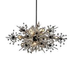 16 light chandelier touareg 35 wide chrome 16 light crystal chandelier