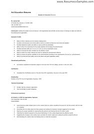 resume examples art teacher template with no teaching art teacher cover letter examples