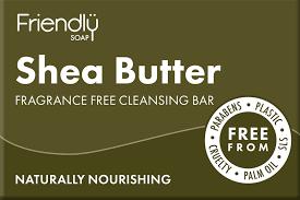 <b>Shea Butter</b> Facial Cleansing <b>Bar</b> | Natural handmade | Friendly <b>Soap</b>