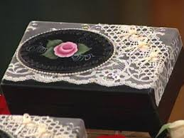 Jewelry Box Decorating Ideas Rose Painted Jewelry Box HGTV 2