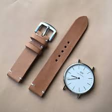 leather watch strap watch band custom made kohi youbi handmade leather watchbands i