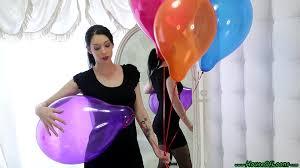 Free no strings balloon fetish porn
