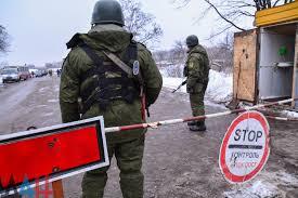 Украинская армия обстреляла КПП Майорск под Горловкой ДАН Украинская армия обстреляла КПП Майорск под Горловкой