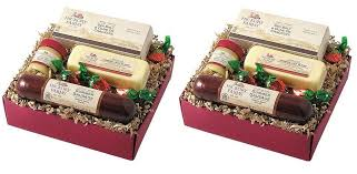 amazon hickory farms 4 piece farmhouse sler gift pack 12 1 oz gourmet snacks and hors doeuvres gifts grocery gourmet food