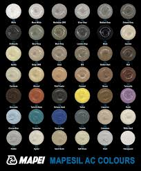 Mapesil Sealant Colour Chart Coloured Mastic Sealant Colours Sealants Online
