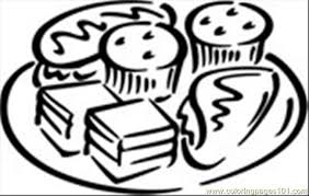 Small Picture Desserts Coloring Page Free Desserts Coloring Pages