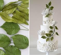 Foliage Greenery Decorated Wedding Cakes Wedding Cake Trend 2017
