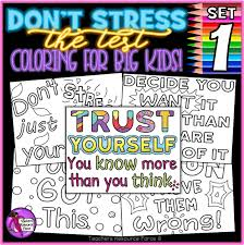 It helps to understand elementary structures and forms. Growth Mindset Colouring Pages Posters Don T Stress The Test 1 Testing Motivation Shop
