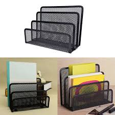 black mesh style pen pencil ruler holder desk organizer metal mesh desk organizer home office desktop