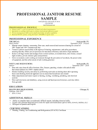 9+ resume profile section