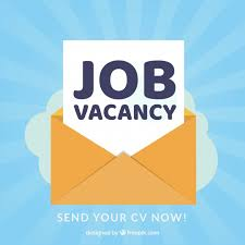 Free Vector | Job vacancy background in flat style