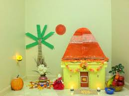 office decor for pongal. Sankranti Decoration At House Craft Office Decor For Pongal