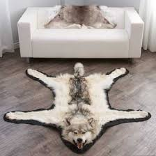 wolf rugs for new full head mounted