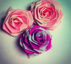 How To Make Flower With Paper Folding How To Make Fast Easy Tiny Origami Rose Strip Folding Snapguide