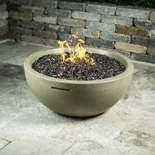 natural gas fire bowl. Wonderful Bowl American Fyre Designs 36Inch Natural Gas Fire Bowl  Cafe Blanco On U