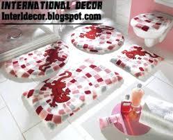 modern bath mats rugs decoration bathroom rugs sets red bathroom rug set modern baths rug sets