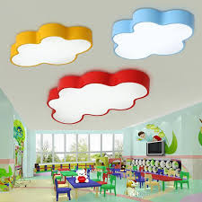 kids room ceiling lighting. 2018 Led Cloud Kids Room Lighting Children Ceiling Lamp Baby Light With Yellow Blue Red White Color For Boys Girls Bedroom Fixtures From