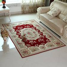Red Living Room Rug Living Room Living Room Floor Mat With Western Red Roses Acrylic