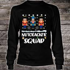 Nutcracker Ballet T Shirt Designs Nutcracker Squad Ballet Dance Matching Family Christmas Shirt
