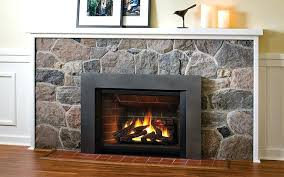 gas fireplace insert with remote control log er fireplaces set for two sided gas fireplace